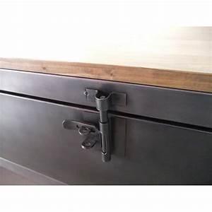 Mobilier Industriel Ancien : meuble tv industriel avec ancien vestiaire heure cr ation ~ Teatrodelosmanantiales.com Idées de Décoration