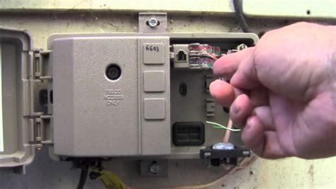 Demarc Box Wiring Diagram by Telephone Problems With Att Verizon Comcast