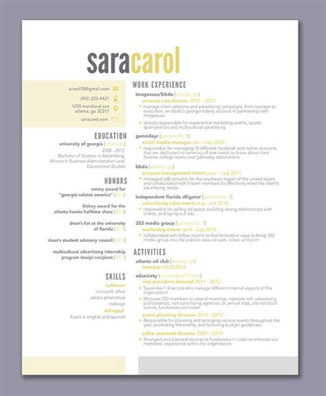 Color Resume Exles by This Resume Template Is Completely Customizable Ive Provided Some Exles But Any Color Can