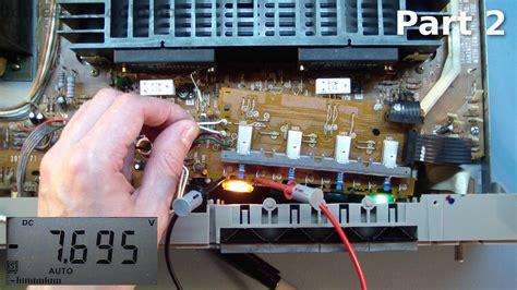 hitachi ha  amplifier repair part  youtube