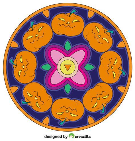 Mandala svg designs for cricut and silhouette. Free Halloween Mandala Svg Design - Layered SVG Cut File ...