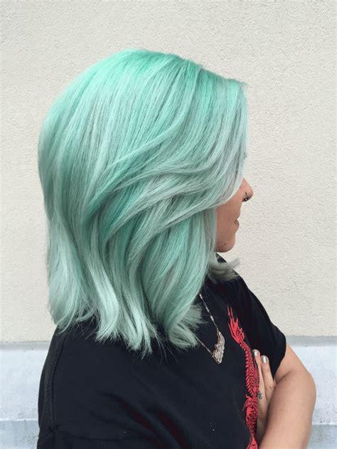 Best 20 Mint Hair Color Ideas On Pinterest Mint Hair