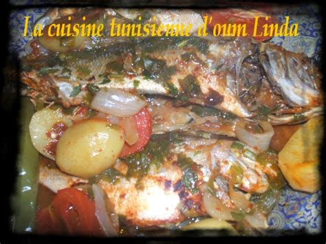 cuisine tunisienne poisson poisson au four la cuisine tunisienne d 39 oum c 39 est