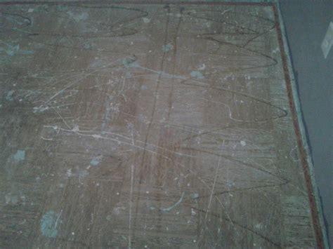 suspected asbestos floor tiles   year  carpet