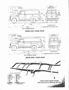 chevrolet advanced design panel truck measurements With 1948 ford coe truck