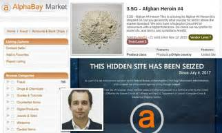 AlphaBay shut down by the Justice Department   Daily Mail ...
