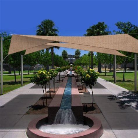 oversized 18 5 square sun shade sail complete