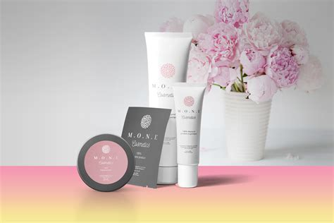 Free cosmetic cream tube mockup (psd). Cosmetic Packaging Mockup PSD Template - LTHEME