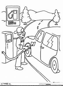 sketch gas station pump coloring pages With fuel pump drawing
