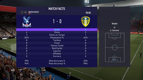 We simulated Crystal Palace vs Leeds United to get a score ...