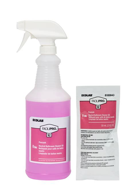 FaciliPro? 92 Pourpak Concentrated Neutral Bathroom Cleaner GS