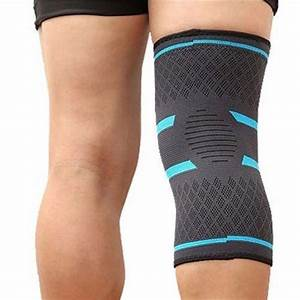 2 Pcs Knee Compression Brace Sleeve Patella Support