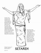 Davina Belly Coloring Dance sketch template