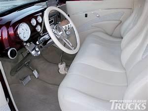 f1 ford pickup | 1951 Ford F1 Pickup Truck Custom Leather ...