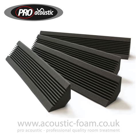 bass trap test bass traps from the pro acoustic foam range