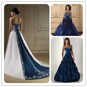 it39s good to be queen navy blue wedding ideas for august With navy blue wedding dresses