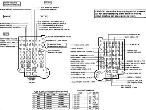 similiar fuse schematic for chevy s keywords 1999 chevy s10 fuse box diagram