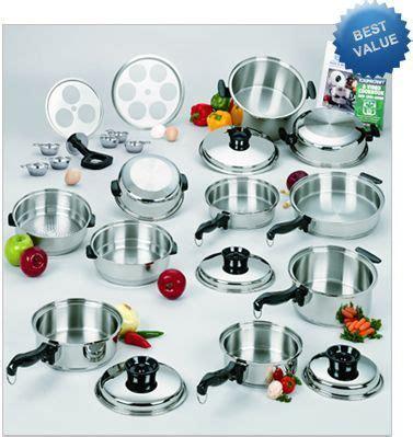 waterless greaseless stainless steel cookware  cookware   world cookware set