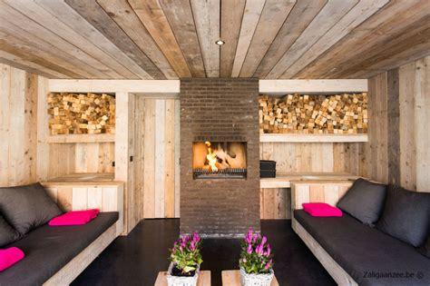 tuinhuis met open haard charmant huis belgische kust te huur bij zaligaanzee