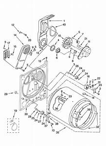Maytag Dryer  Maytag Dryer Parts Diagram