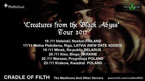 Cradle Of Filth  Album Quotes  Tour Trailer Youtube