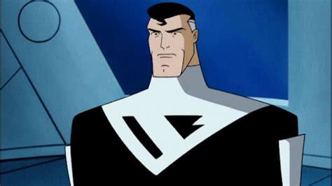 supermans black costume  means