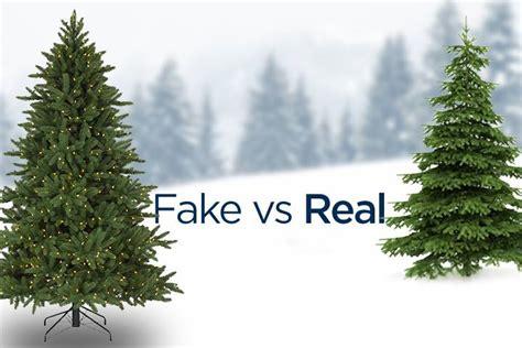 fake vs real christmas trees the dana mariner