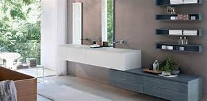 meilleur salle de bain design avec meuble vasque toilette With salle de bain design avec vasque avec robinet