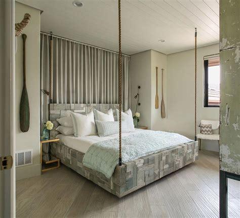 chambre originale top une chambre coucher la dco rustique avec un lit