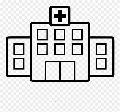 Clipart Pintar Hospital Krankenhaus Ausmalbilder Pinclipart