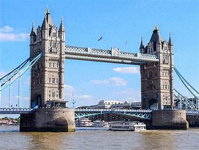 Landmarks Famous London Bridge Tower Kingdom United
