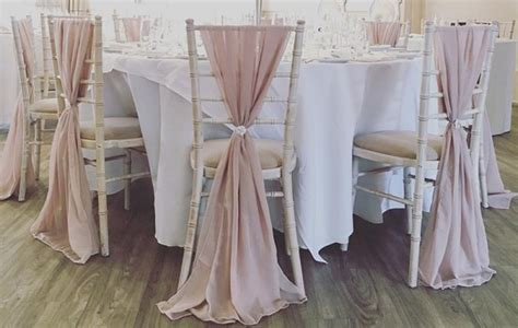 chiavari chair covers decoration  covered