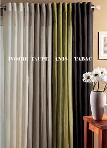 Rideau En Lin Ikea : tendances rideaux rideaux sur mesure rideaux lin ~ Teatrodelosmanantiales.com Idées de Décoration