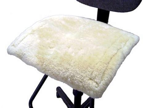 sheepskin office chair pads by villageshop
