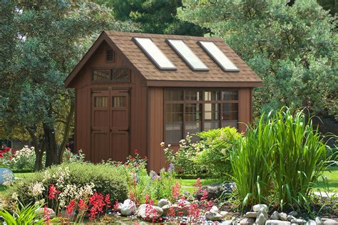 Backyard Outbuildings by Backyard Garden Potting Shed Designs And Creations