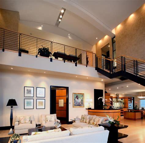 urban penthouse loft modern living room atlanta