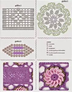 Floral Table Runner Crochet Pattern Free Diagram  U22c6 Crochet