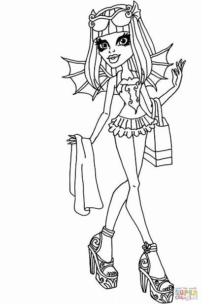 Coloring Pages Rochelle Goyle Splash Drawing Colorings