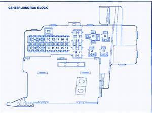 Toyota 4 Runner 2002 Fuse Box  Block Circuit Breaker Diagram