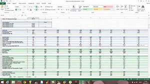 Free Excel Stock Spreadsheet - How To Use