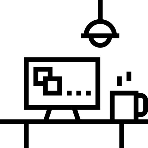 Office Desk Icon by Desk Free Computer Icons