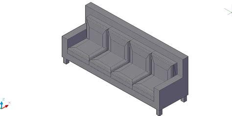sofa 3 plazas dwg bloques autocad gratis de sof 225 recto de 4 plazas en 3