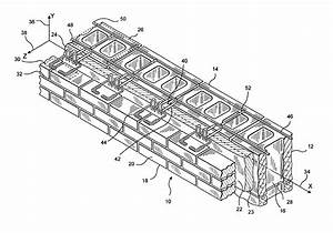 patent us6789365 side welded anchors and reinforcements With wiring a block wall