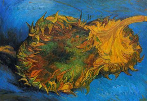 Two Cut Sunflowers Vincent Van Gogh Paintings