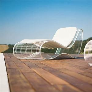 Bain De Soleil Design : breez l bain de soleil de design en m tal pour ext rieur sediarreda ~ Teatrodelosmanantiales.com Idées de Décoration