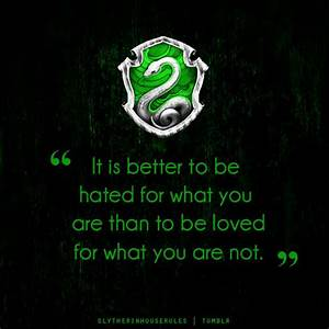 Slytherin House Quotes. QuotesGram