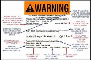 electrical safety jdrm engineering inc With arc flash label template
