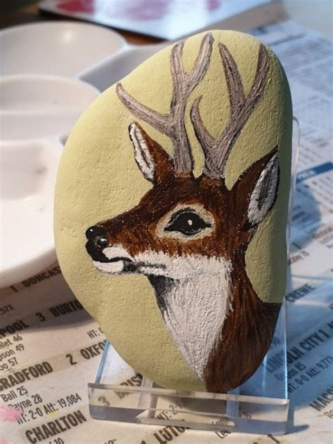 easy animal rock painting ideas  beginners