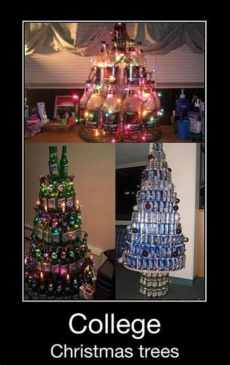 college christmas trees funny sarcasm memes pinterest