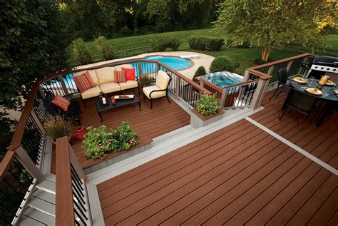 trex deck designs pictures home design ideas